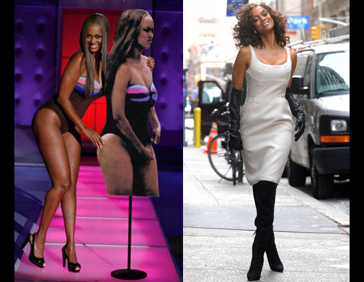 tyra banks fat pictures. PHOTO Tyra Banks Weight Loss