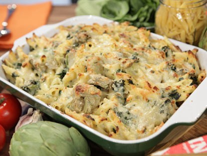 Rachael Ray's Spinach and Artichoke Mac and Cheese | Recipe - ABC News