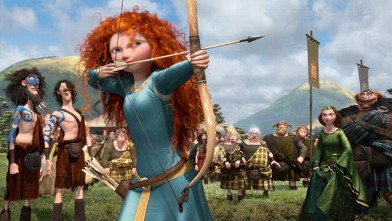 PHOTO: A still from the animated film &quot;Brave&quot; is shown.