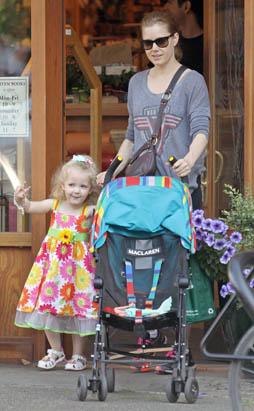Selma Blair's Family Outing