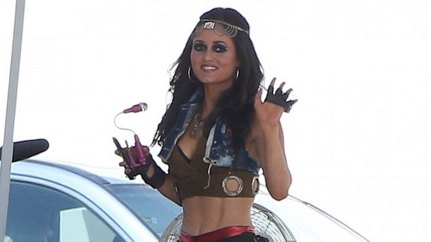 akmgsi danica mckellar kb 130726 16x9 608 Danica McKellar, aka Winnie Cooper, Reveals Killer Abs in Avril Lavigne Music Video