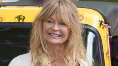 Goldie Hawn Volunteers for Elephants