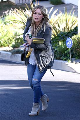 Hilary Duff Revealed Natural Beauty