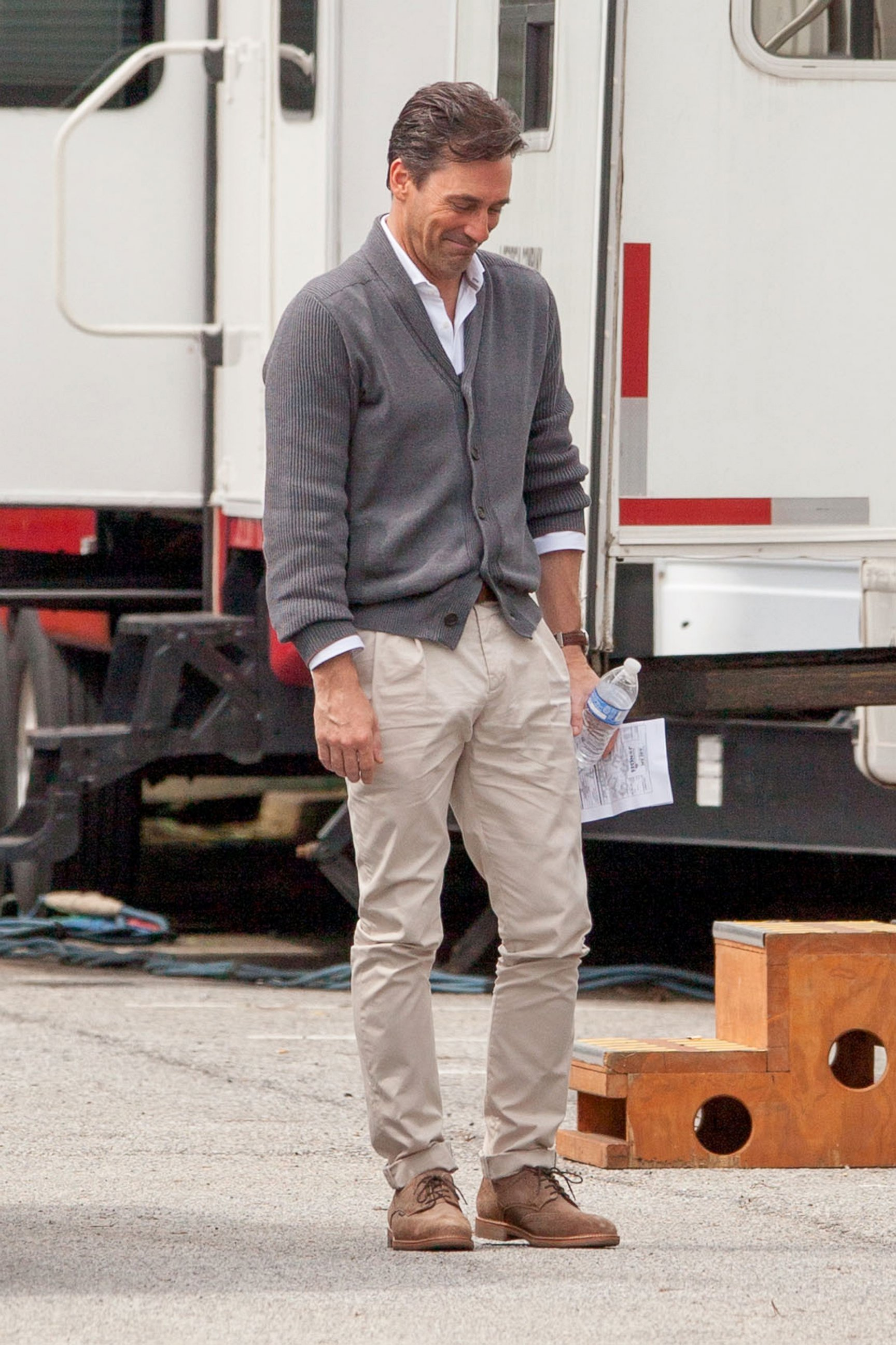 Jon Hamm Goes Clean-Shaven for Keeping Up With the Joneses