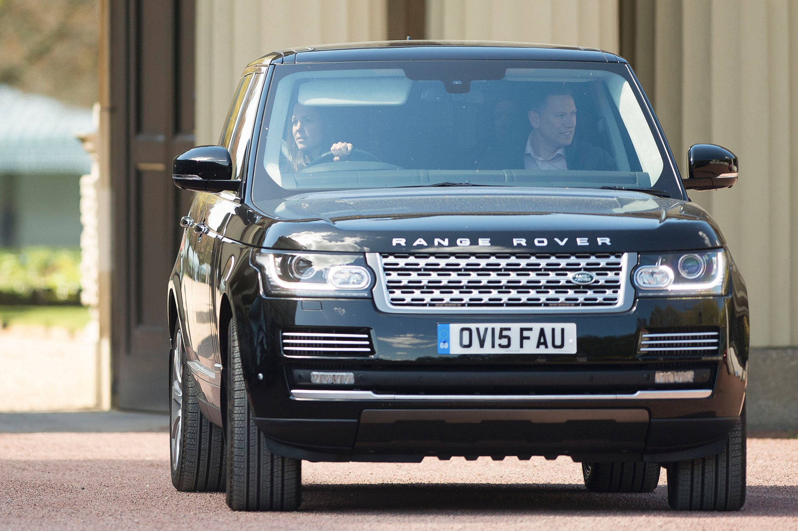 Kate Middleton Goes for a Drive