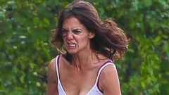 Katie Holmes Gets Heated for a New Film