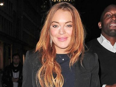 Lindsay Lohan Steps Out In Her New Hometown of London