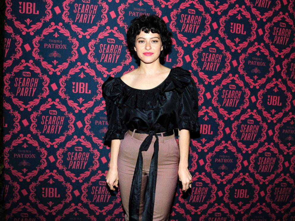 PHOTO: Alia Shawkat attends the premiere of Search Party at Public Hotel, Nov. 8, 2017, in New York City.