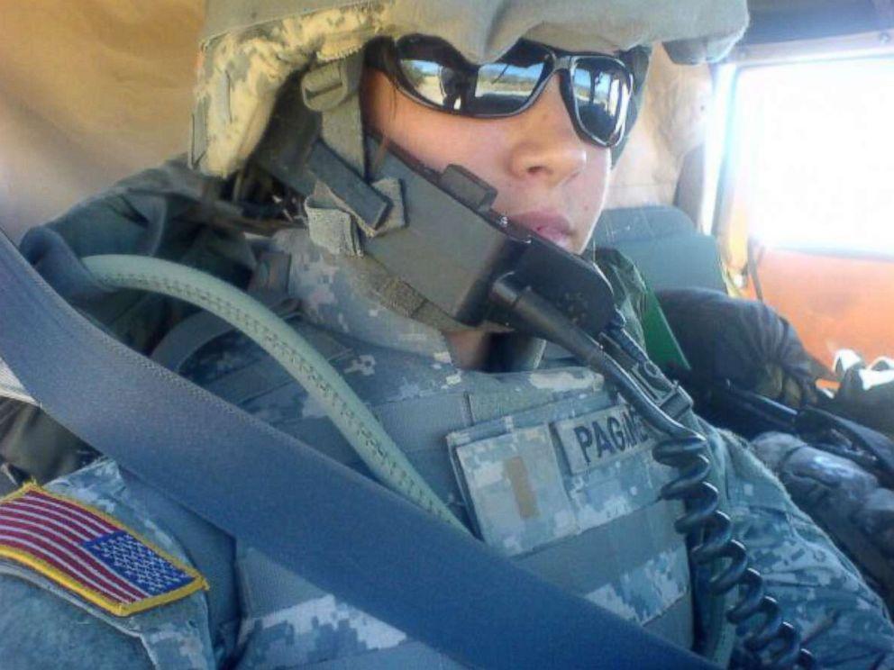 PHOTO: Army veteran Allison Paganetti.