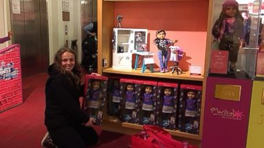 'PHOTO: Olivia Reduto donated six American Girl dolls to Yonkers Public Library.' from the web at 'http://a.abcnews.com/images/Entertainment/american-girl7a-ht-ml-121217_2_16x9t_384.jpg'