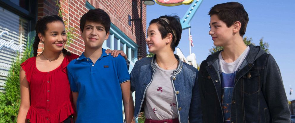 "PHOTO: A scene from the show ""Andi Mack."""