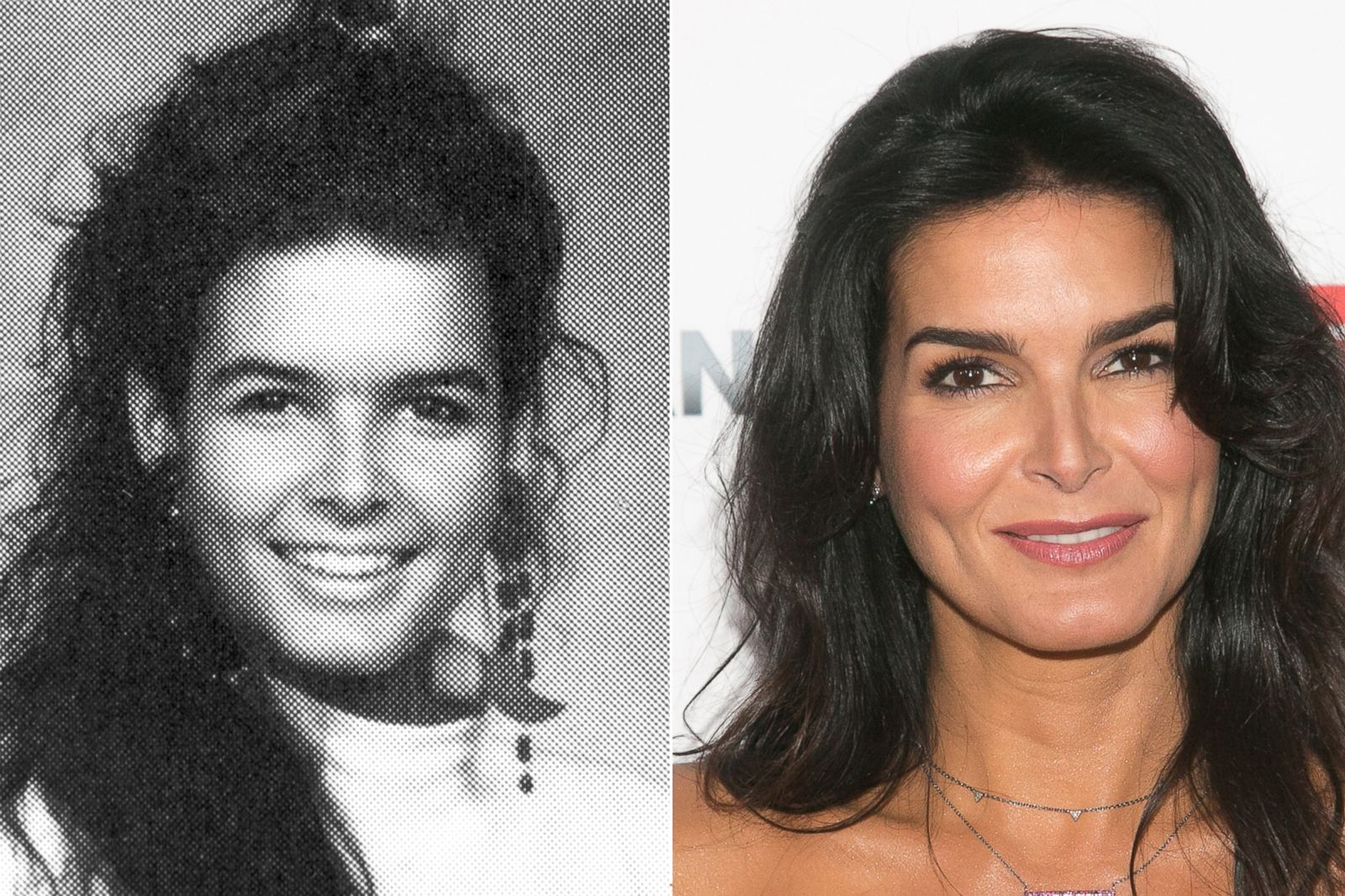 Angie Harmon Picture Before They Were Famous Abc News