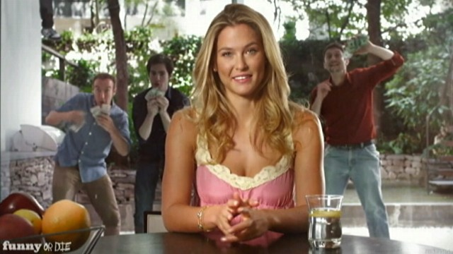 "VIDEO: ""Funny or Die"" spoof has the supermodel launching fake Kickstarter campaign."
