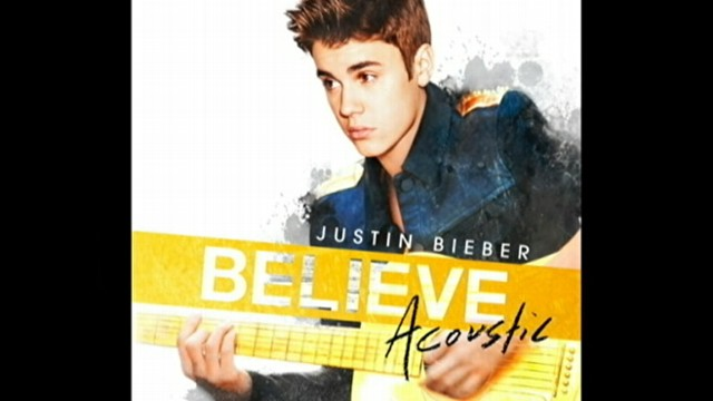 "VIDEO: Pop stars new song, ""Nothing Like Us,"" is part of his latest album, ""Believe Acoustic."""