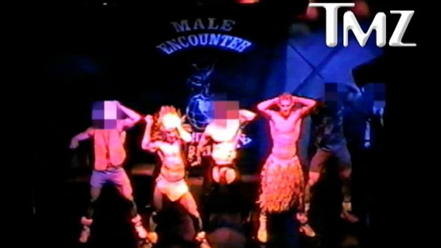 "VIDEO: ""Magic Mike"" star messes up in 1990s dance routine to Village Peoples ""YMCA."""