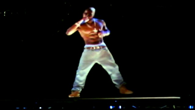 VIDEO: Hologram of Tupac Shakur appeared on stage at the California event.