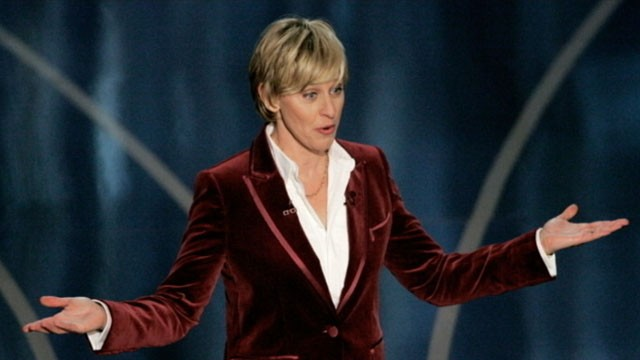 VIDEO: Ellen DeGeneres to host 2014 Oscars.