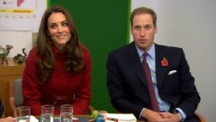 VIDEO: Royal officials announce that the Duke and Duchess of Cambridge are expecting a baby.