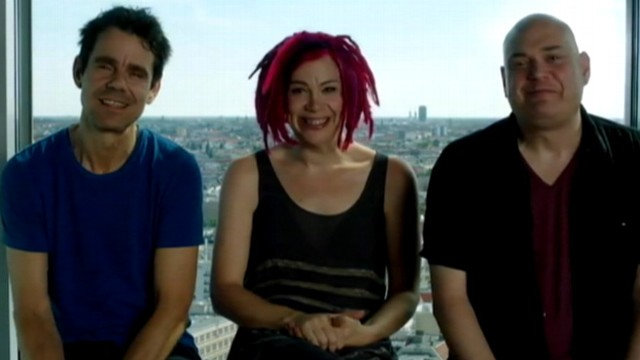 "VIDEO: Lana Wachowski, formerly Larry Wachowski, is seen in a promotional clip for ""Cloud Atlas."""
