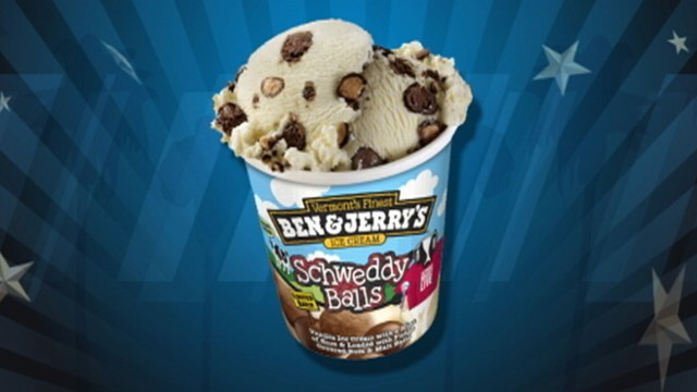 VIDEO: Ben and Jerrys launches Schweddy Balls ice cream flavor.