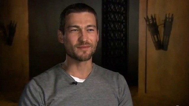 VIDEO; Australian actor, Andy Whitfield, who appeared on the cable series died of lymphoma.