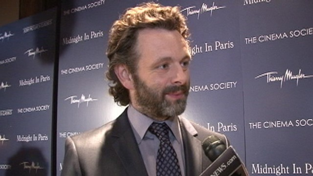 VIDEO: Michael Sheen and Rachel McAdams began their romance after filming on Midnight in Paris wrapped.