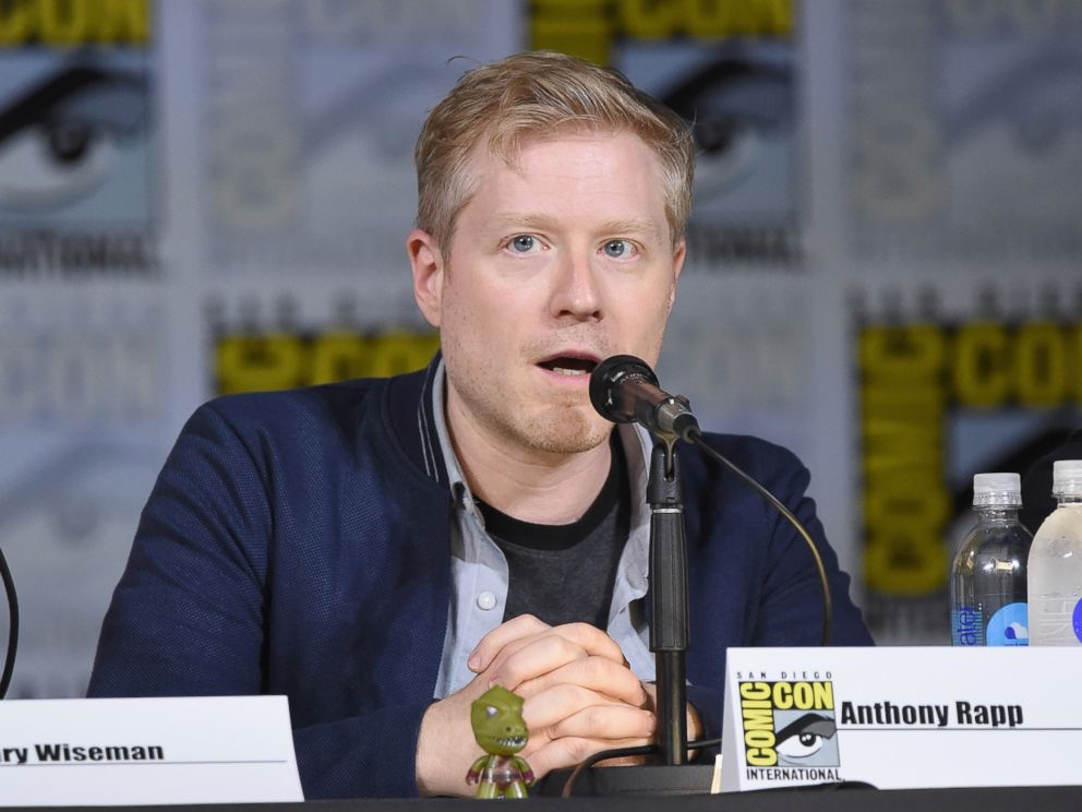 PHOTO: Anthony Rapp speaks at Comic-Con International 2017 on July 22, 2017 in San Diego.