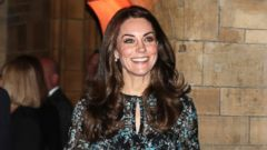 Princess Kate Wears Florals to a Tea Party