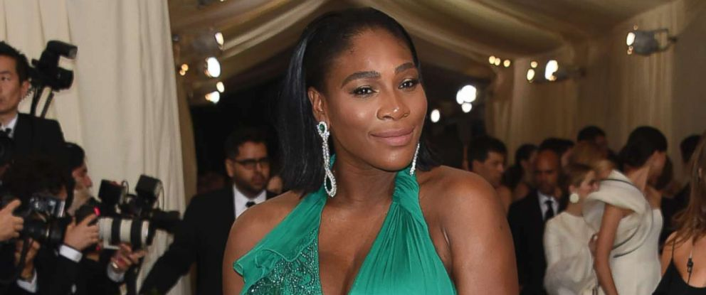 "PHOTO: Serena Williams attends the ""Rei Kawakubo/Comme des Garcons: Art Of The In-Between"" Costume Institute Gala at Metropolitan Museum of Art in New York City, May 1, 2017."