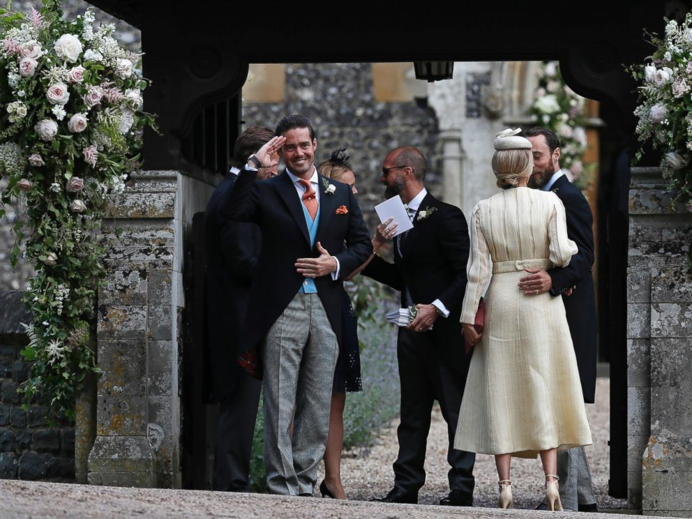 all the details of pippa middleton�s wedding to james