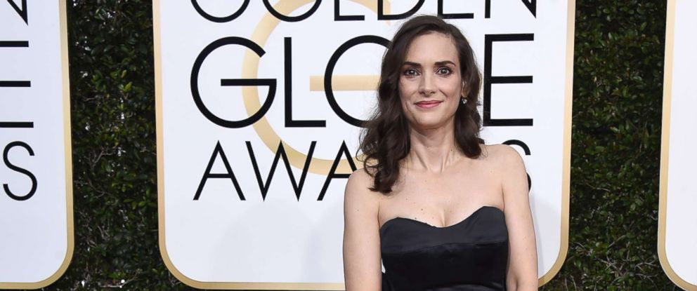 PHOTO: Winona Ryder attends the 74th Annual Golden Globe Awards at The Beverly Hilton Hotel on Jan. 8, 2017 in Beverly Hills, Calif.