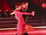 """PHOTO:This May 13, 2013 photo released by ABC shows country singer Kellie Pickler and her partner Derek Hough performing on the celebrity dance competition series """"Dancing with the Stars,"""" in Los Angeles."""