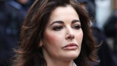 PHOTO: Celebrity chef, Nigella Lawson, arrives at Isleworth Crown Court in London, Wednesday, Dec. 4, 2013.