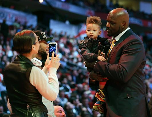 Alicia Keys Snaps Her Son With Shaquille O'Neal