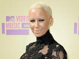 Photos: Amber Rose's Red Carpet Bump