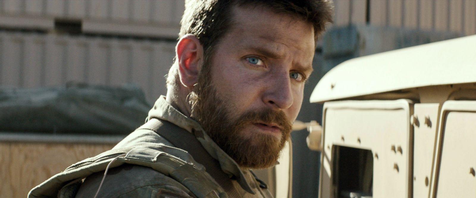 "PHOTO: Bradley Cooper appears in a scene from ""American Sniper."""