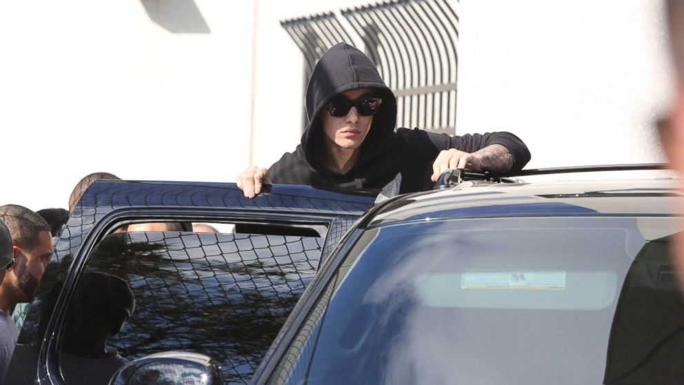 PHOTO: Singer Justin Bieber leaves the Turner Guilford Knight Correctional Center on Jan. 23, 2014, in Miami.