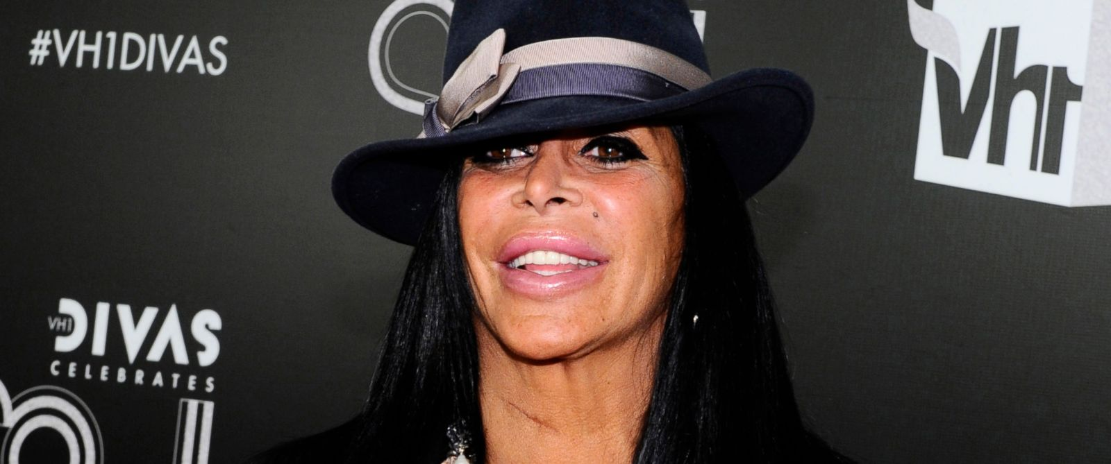 "PHOTO: Angela Raiola, better known as Big Ang, arrives at ""Vh1 Divas Celebrates Soul"" in New York, Dec. 18, 2011."