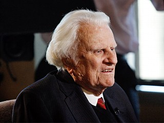 Billy Graham Admitted to Hospital