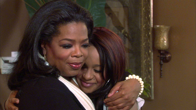 PHOTO: Bobbi Kristina and Oprah