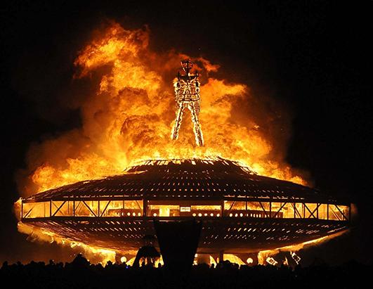 Weird and Beautiful Images From Burning Man 2013