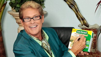 PHOTO: David Hasselhoff Lean Pockets commercial