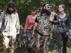 PHOTO: From left, Jase Robertson, Missy Robertson, Willie Robertson and Korie Robertson, in the episode Lets Go Hunting, Deer, from the show Duck Dynasty.