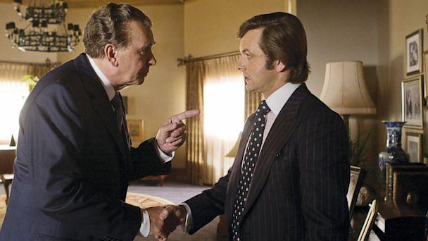 PHOTO: Frank Langella and Michael Sheen in Frost/Nixon