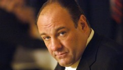 James Gandolfini in his role as Tony Soprano, head of the New Jersey crime family portrayed in HBO's