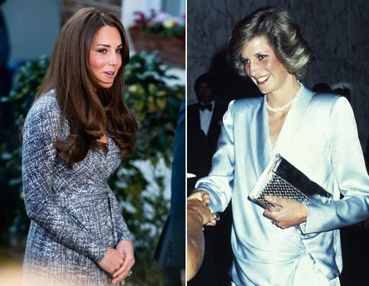 Kate Evokes Di in Fashion