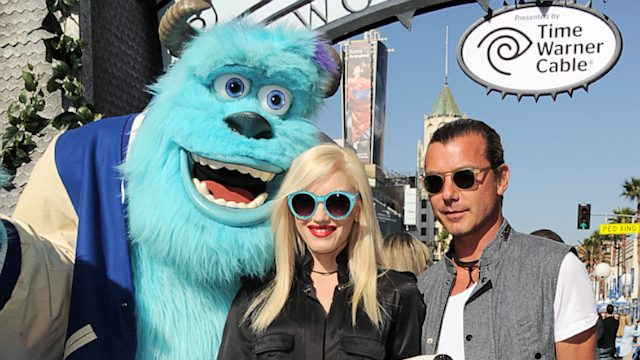 Gwen Stefani, Gavin Rossdale and Kids at Premiere of 'Monsters University'