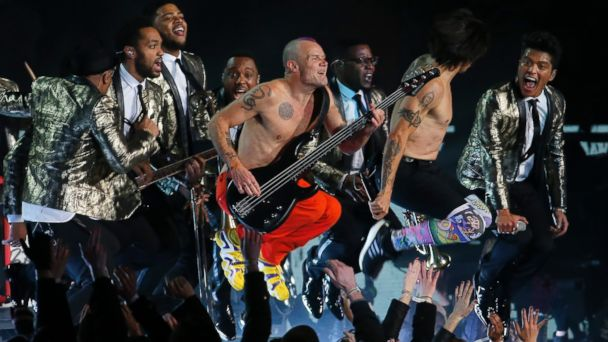 ap halftime kb 140202 16x9 608 The Most Controversial Thing About the Bruno Mars and Red Hot Chili Peppers Super Bowl Halftime Show