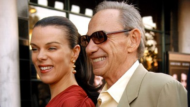 "PHOTO: Debi Mazar and Henry Hill during attend ""GoodFellas"" Special Edition DVD Release at Matteo's Italian Restaurant in Los Angeles, Calif."