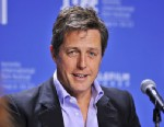 "PHOTO: Actor Hugh Grant speaks during the news conference for the film ""Cloud Atlas"" during the 2012 Toronto International Film Festival in Toronto on Sept. 9, 2012."